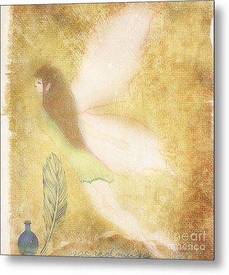 Fairy Folk Magic Metal Print by Sacred  Muse