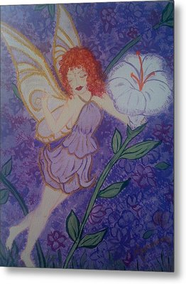 Fairy Harmony  Metal Print by Judi Goodwin