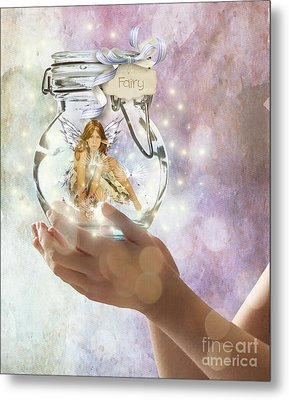 Fairy Metal Print by Juli Scalzi