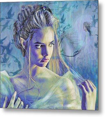 Fairy Queen Metal Print by Jane Schnetlage