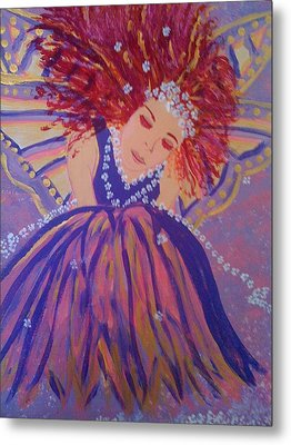 Fairy Remi Metal Print by Judi Goodwin