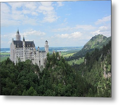 Fairytale Castle - 1 Metal Print