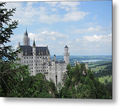 Metal Print featuring the photograph Fairytale Castle by Pema Hou