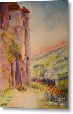 Fairytale In Perigord France Metal Print