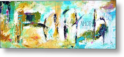 Faith And Amor Metal Print