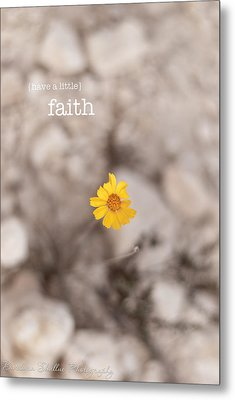 Faith Metal Print by Barbara Shallue