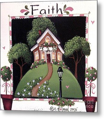 Faith Metal Print by Catherine Holman