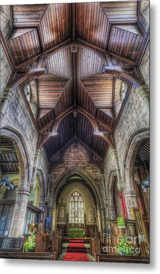 Faith Shines For You Metal Print by Ian Mitchell