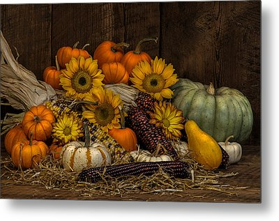 Fall Assortment Metal Print