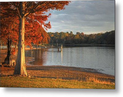 Fall At Georgia Lake Metal Print