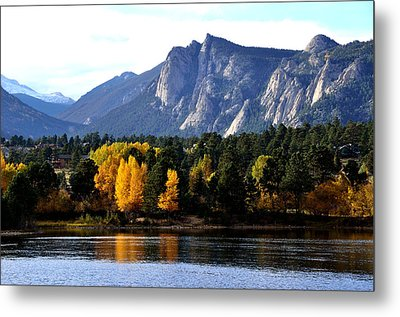 Fall At Lake Estes Metal Print by Tranquil Light  Photography