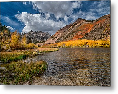 Fall At North Lake Metal Print by Cat Connor