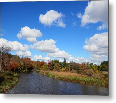 Fall At The Credit River Metal Print