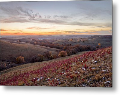 Fall Colors Metal Print by Scott Bean