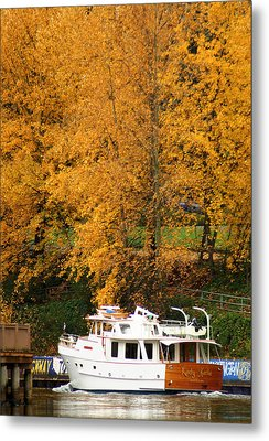 Metal Print featuring the photograph Fall Cruise by Erin Kohlenberg