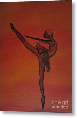 Fall Dancer 1 Metal Print by Laurianna Taylor