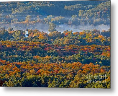 Fall In Arcadia Metal Print by Twenty Two North Photography