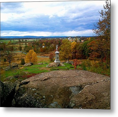 Metal Print featuring the photograph Fall In Gettysburg by Amazing Photographs AKA Christian Wilson