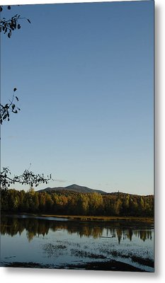Fall In The Adirondacks Metal Print