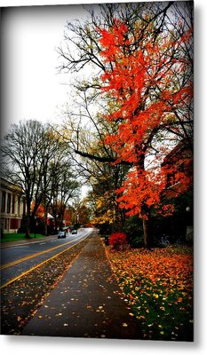 Fall In The Northwest Metal Print by Heather L Wright