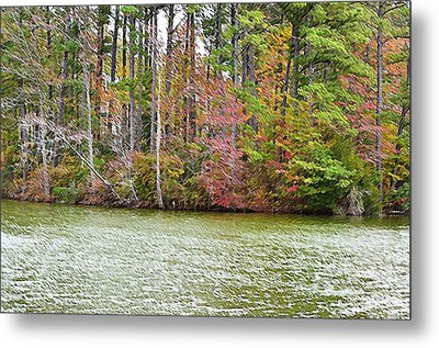 Fall Landscape 2 Metal Print by Lanjee Chee