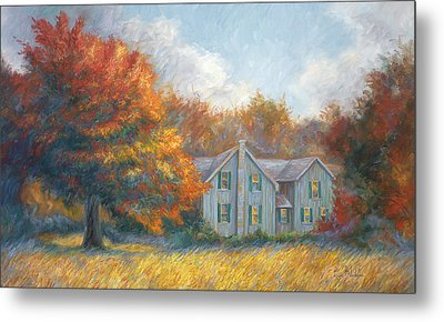 Fall Metal Print by Lucie Bilodeau