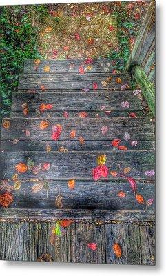 Fall Morning Metal Print by Marianna Mills