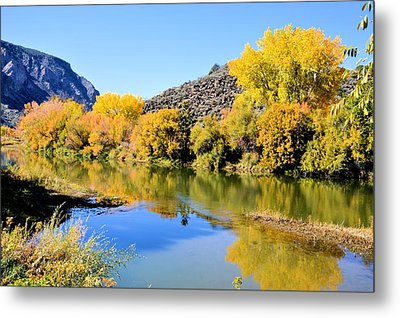 Fall On The Rio Grande Metal Print