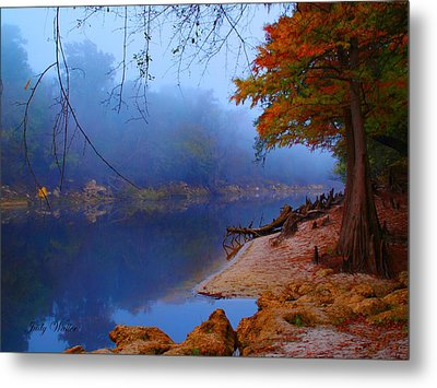 Fall On The Suwannee River Metal Print