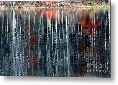 Fall Reflection 1 Metal Print by Rich Killion