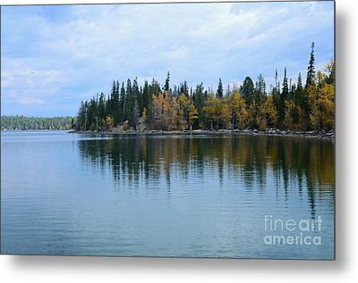 Fall Reflections Metal Print by Kathleen Struckle