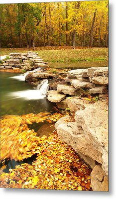 Fall Serenity Metal Print by Gregory Ballos