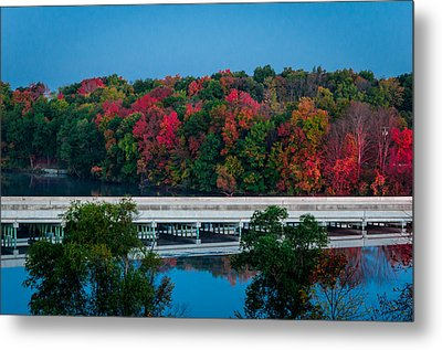 Fall Splendor Metal Print by Gene Sherrill