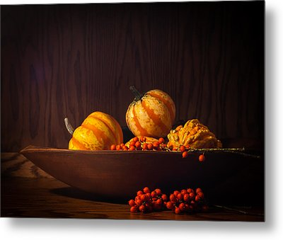 Metal Print featuring the photograph Fall Still Life by Wayne Meyer