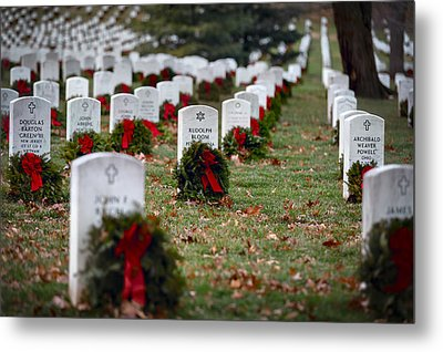 Fallen Heroes Honor And Remember Metal Print by Eduard Moldoveanu