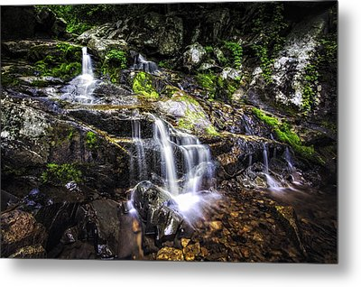 Metal Print featuring the photograph Falling Cascades  by Joshua Minso