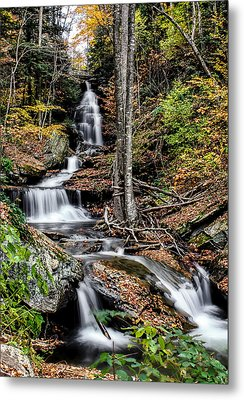 Metal Print featuring the photograph Falling Down by David Stine