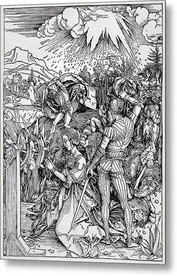 Falling Of The Ensisheim Meteorite Metal Print by Detlev Van Ravenswaay