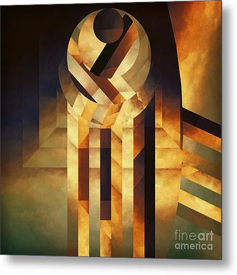 Falling Reality Metal Print by Lonnie Christopher