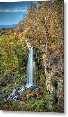 Falling Springs Falls Metal Print