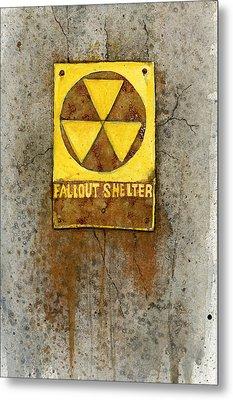Fallout Shelter #1 Metal Print