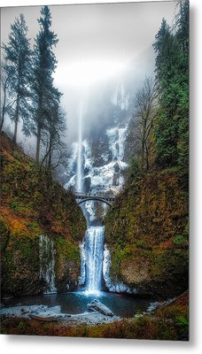 Falls Of Heaven Metal Print