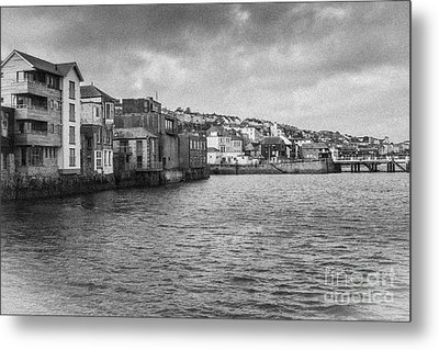 Falmouth Waterfront Metal Print by Brian Roscorla