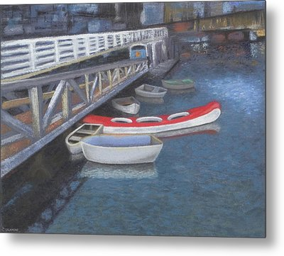False Creek Ferry Landing Metal Print