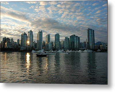 False Creek Sunset Metal Print