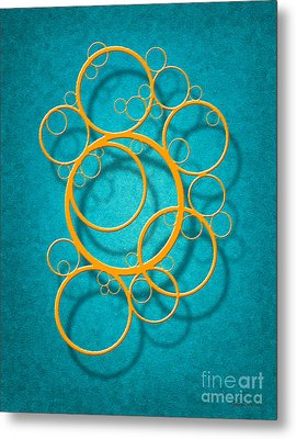 Family Circles Metal Print by Cristophers Dream Artistry