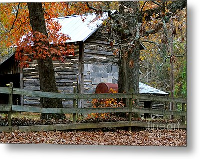 Family Farm Metal Print