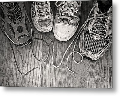 Metal Print featuring the photograph Family Love by Barbara West