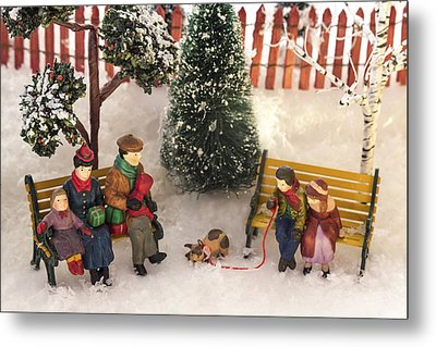 Family Outing Metal Print by Caitlyn  Grasso