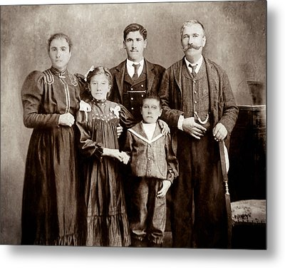 Family - Picture Two Metal Print